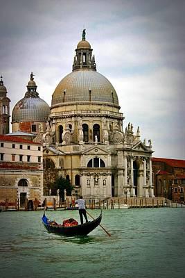 Venice Gondola Poster by Henry Kowalski