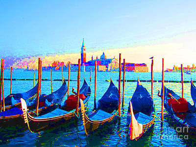 Venice Hues Poster