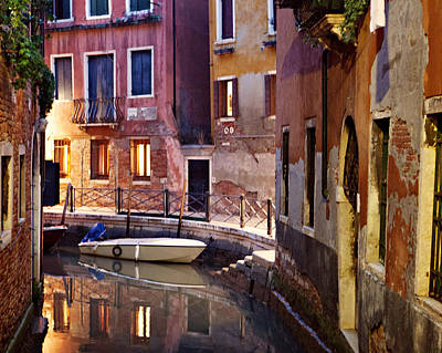 Venice Italy Canal Poster