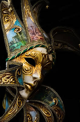 Venice Italy - Carnival Mask Poster