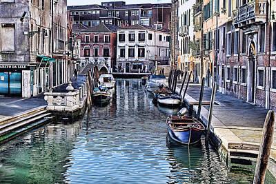 Venice Italy Iv Poster by Tom Prendergast