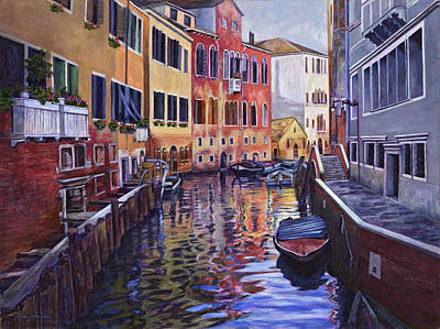 Venice Poster by Douglas Simonson