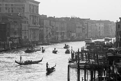 Poster featuring the photograph Venice Grand Canal by Silvia Bruno