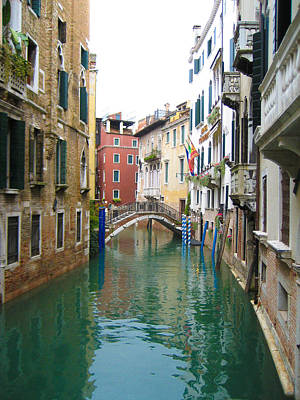 Venice Waterway Poster