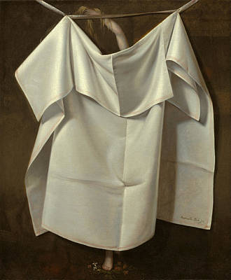 Venus Rising From The Sea. A Deception Poster by Raphaelle Peale