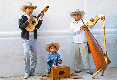 Poster featuring the photograph Veracruz Troupe by John  Bartosik