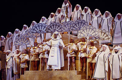 Verdi Aida Poster by Shaun Higson