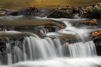Vermont Bartlett Waterfall Cascades Poster by Juergen Roth