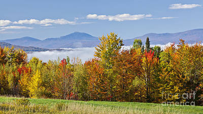 Vermont October Morning Poster