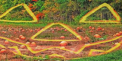 Vermont Pumpkin Patch - Halloween Transition Poster by Steve Ohlsen