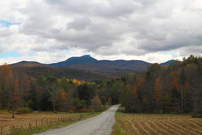 Poster featuring the photograph Vermont Road by Alicia Knust
