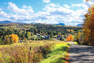 Vermont Village Poster by William Alexander