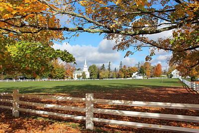 Vermont Vista Poster by William Alexander