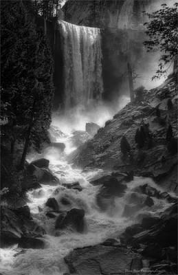 Vernal Falls Poster by Daniel Behm
