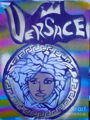 Versace Rainbow Street Art Poster by Tony B Conscious