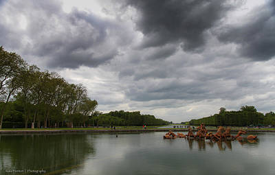 Poster featuring the photograph Versailles Storm by Ross Henton