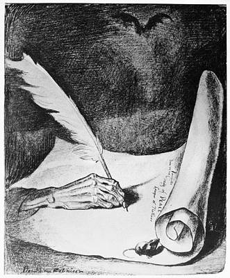 Versailles Treaty Cartoon Poster by Granger