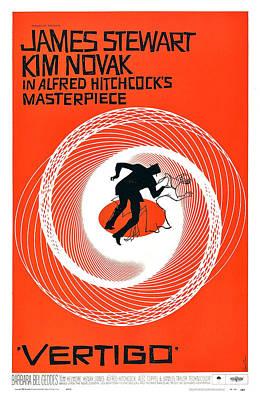 Vertigo, Poster Art, 1958 Poster by Everett