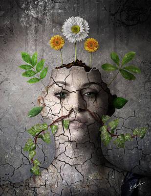 Broken Vessel Poster by Gary Bodnar