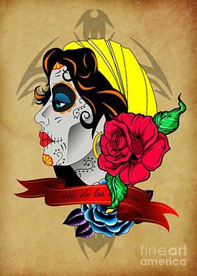 Via De Los Muertos Poster by Mark Ashkenazi