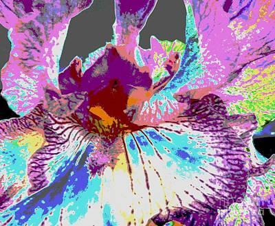 Vibrant Petals Poster by Sally Simon