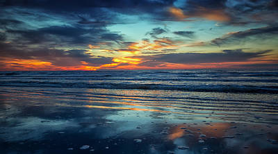Vibrant Sunrise  Poster