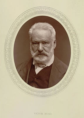 Victor Hugo Poster by British Library