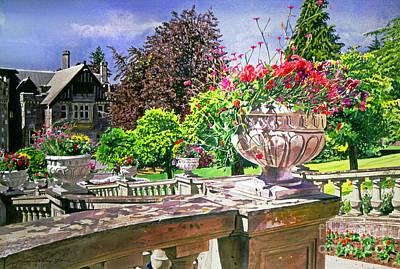 Victoria - Hatley Castle Poster by David Lloyd Glover