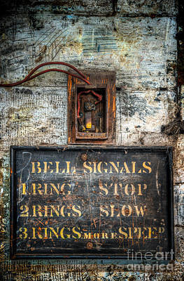 Victorian Bell Sign Poster