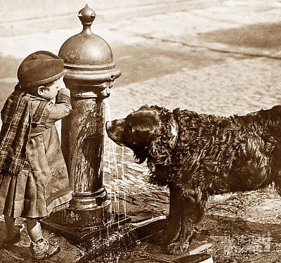 The Drinking Fountain Scotland Poster