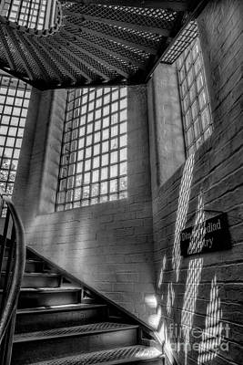 Victorian Jail Staircase V2 Poster by Adrian Evans