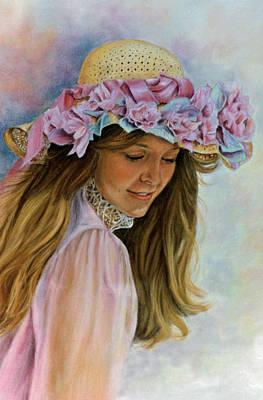 Victorian Memories Poster by Ann Peck
