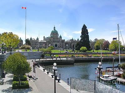 Victoria's Parliament Buildings Poster