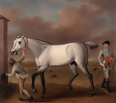 Victorious At Newmarket Poster