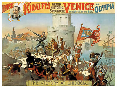 Victory At Chioggia Poster by Terry Reynoldson