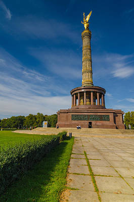 Victory Column Poster by Jonah  Anderson