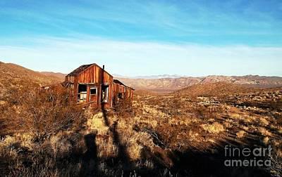 View Estate - Randsburg California Poster