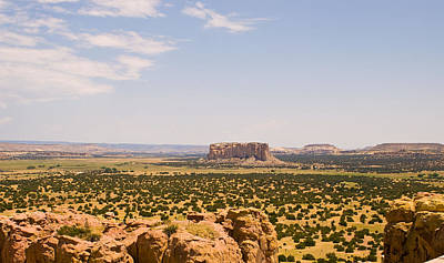 View From Acoma Mesa Poster by James Gay