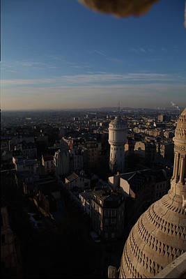 View From Basilica Of The Sacred Heart Of Paris - Sacre Coeur - Paris France - 011321 Poster