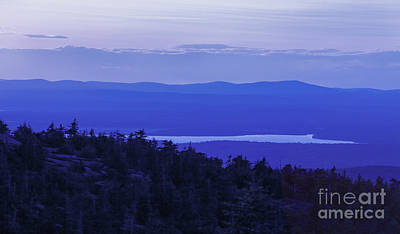 View From Cadillac Mountain Poster by Diane Diederich