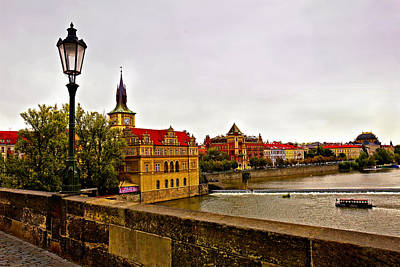 View From Charles Bridge Poster