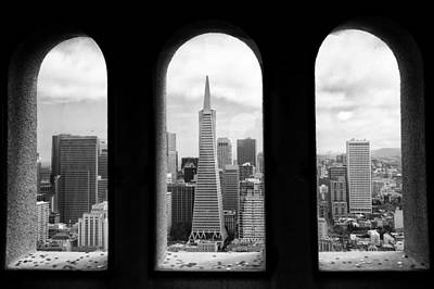 View From Coit Tower Poster by Celso Diniz