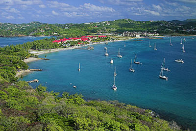 View From Fort Rodney-st Lucia Poster