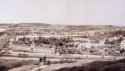 View From Gambles Hill, Richmond Poster