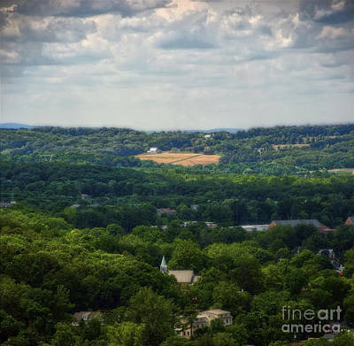 Poster featuring the photograph View From Goat Hill by Debra Fedchin