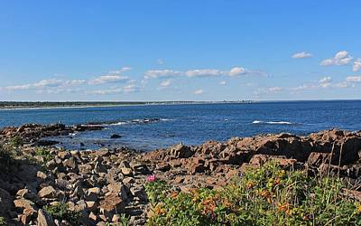 View From Marginal Way Ogunquit Maine 3 Poster