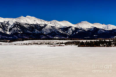 View From Meadow Creek Resevoir Poster by Jon Burch Photography