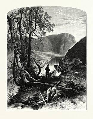 View From Prospect Rock Poster by J.d. Woodward, John Douglas (1846?1924), American