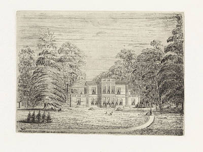 View Of A Country Estate In Baarn, The Netherlands Poster