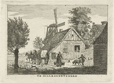 View Of A Village, Hendrik Roosing Poster